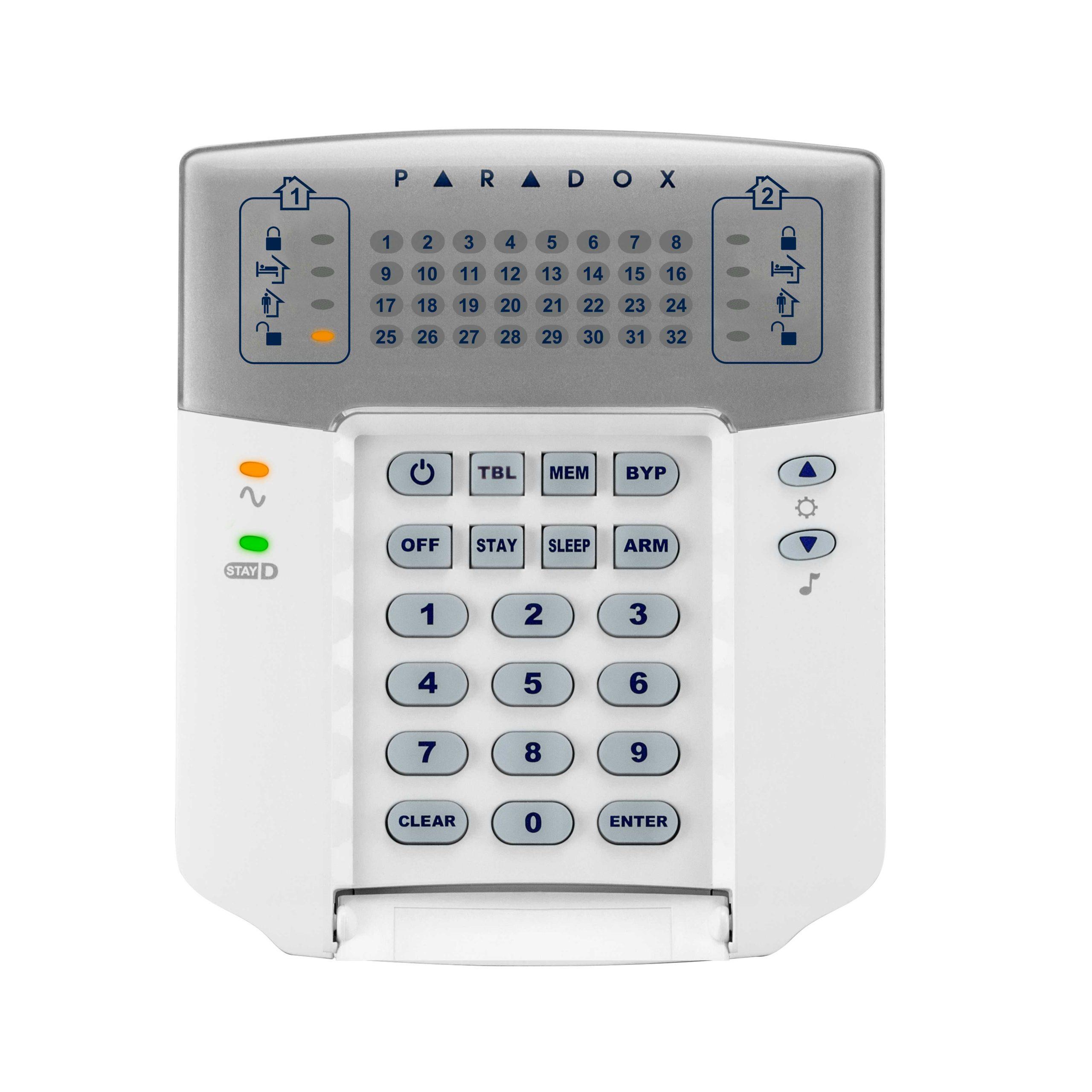 ماژول صفحه کلید LED 32 هارددیسک 32 منطقه ایK32 +پارادوکس