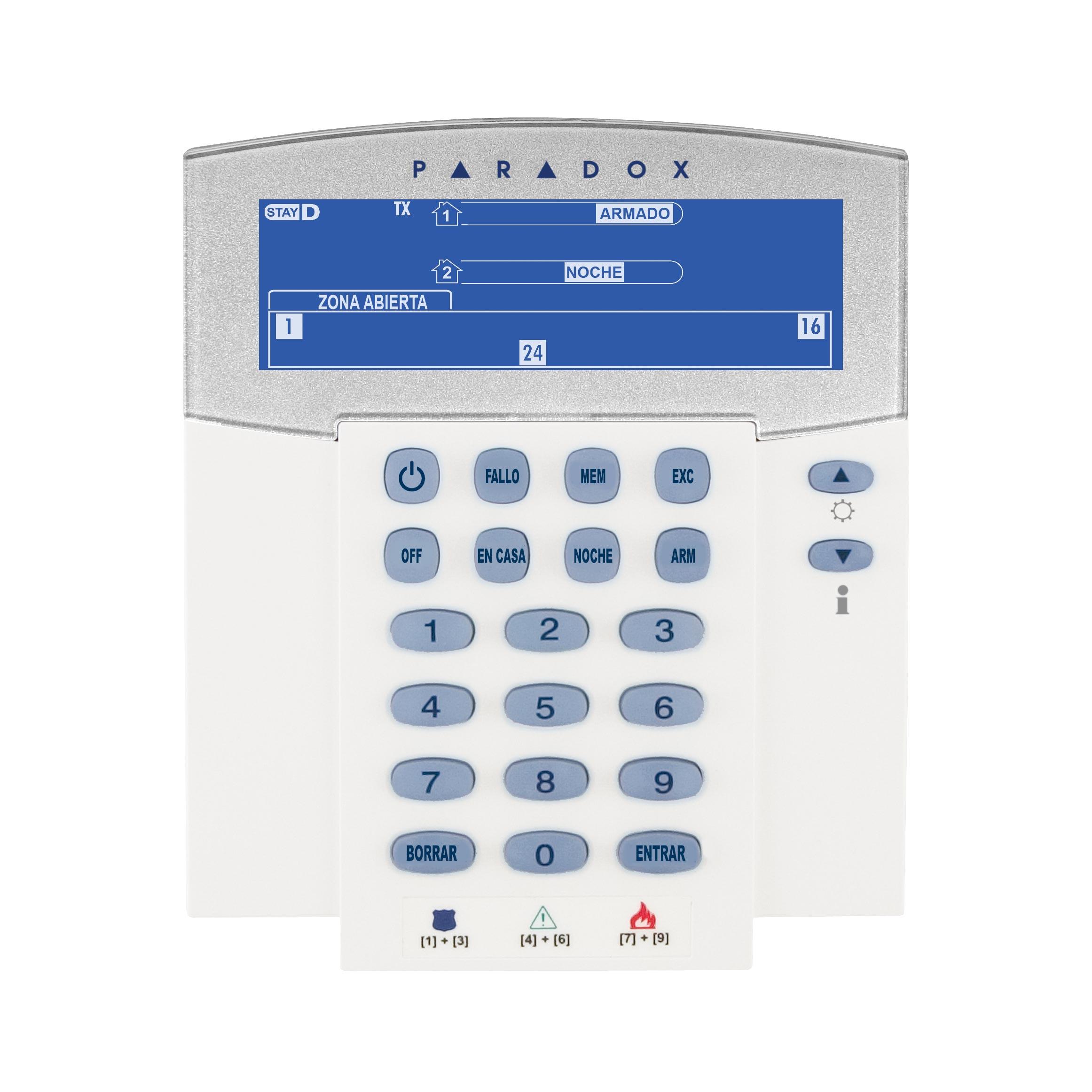 """صفحه کلید LCD 32 بی سیم ثابت با استفاده از 2 باتری """"AA"""" ، با باتری پشتیبان داخلی (PA6 اختیاری است)K37 (قبلاً K32IRF) پارادوکس"""
