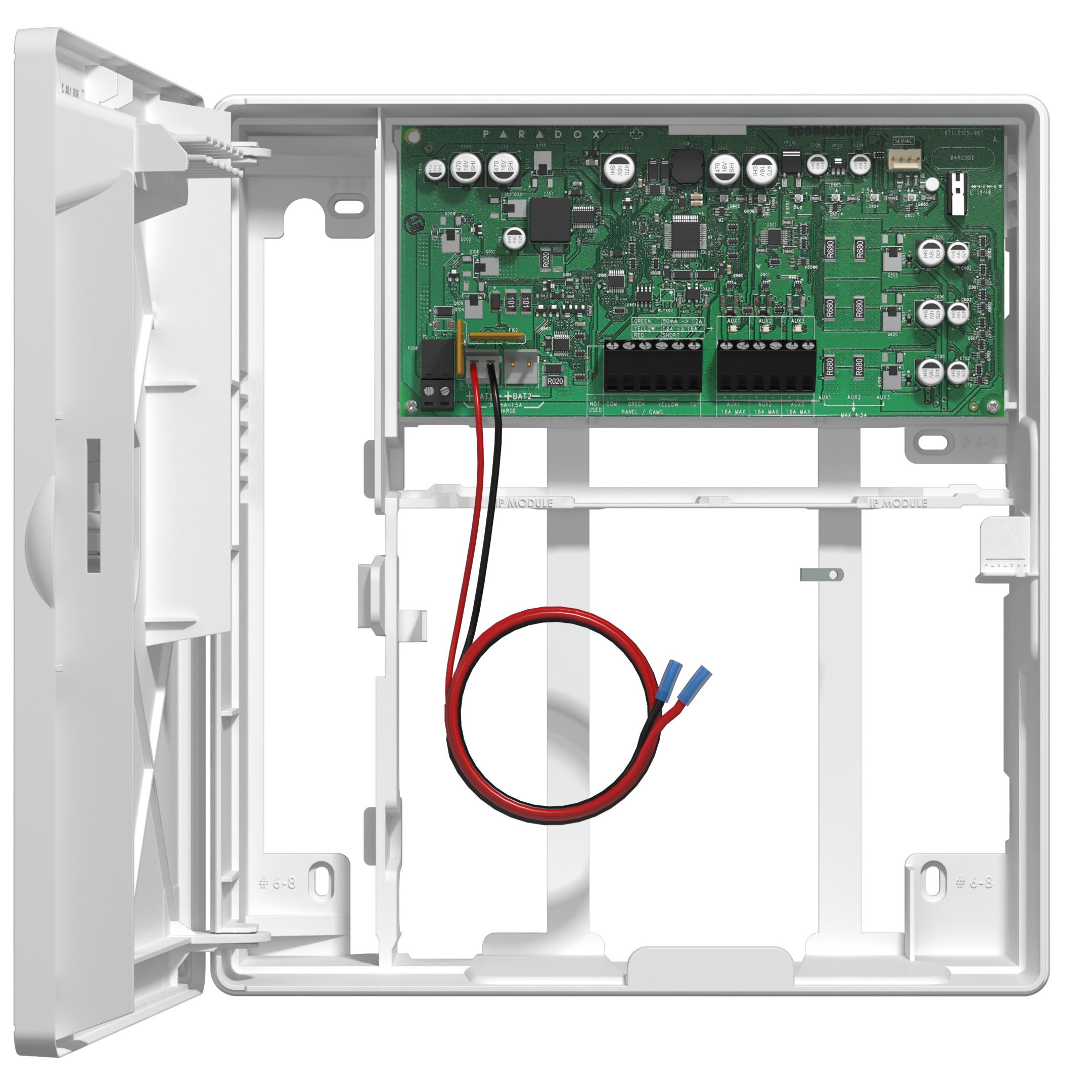 باتری 75W 100-240 Vac یا 13.8 Vdc باتری 15 Vdc مستقل یا منبع تغذیه پشتیبان تهیه شدهPS45 پارادوکس