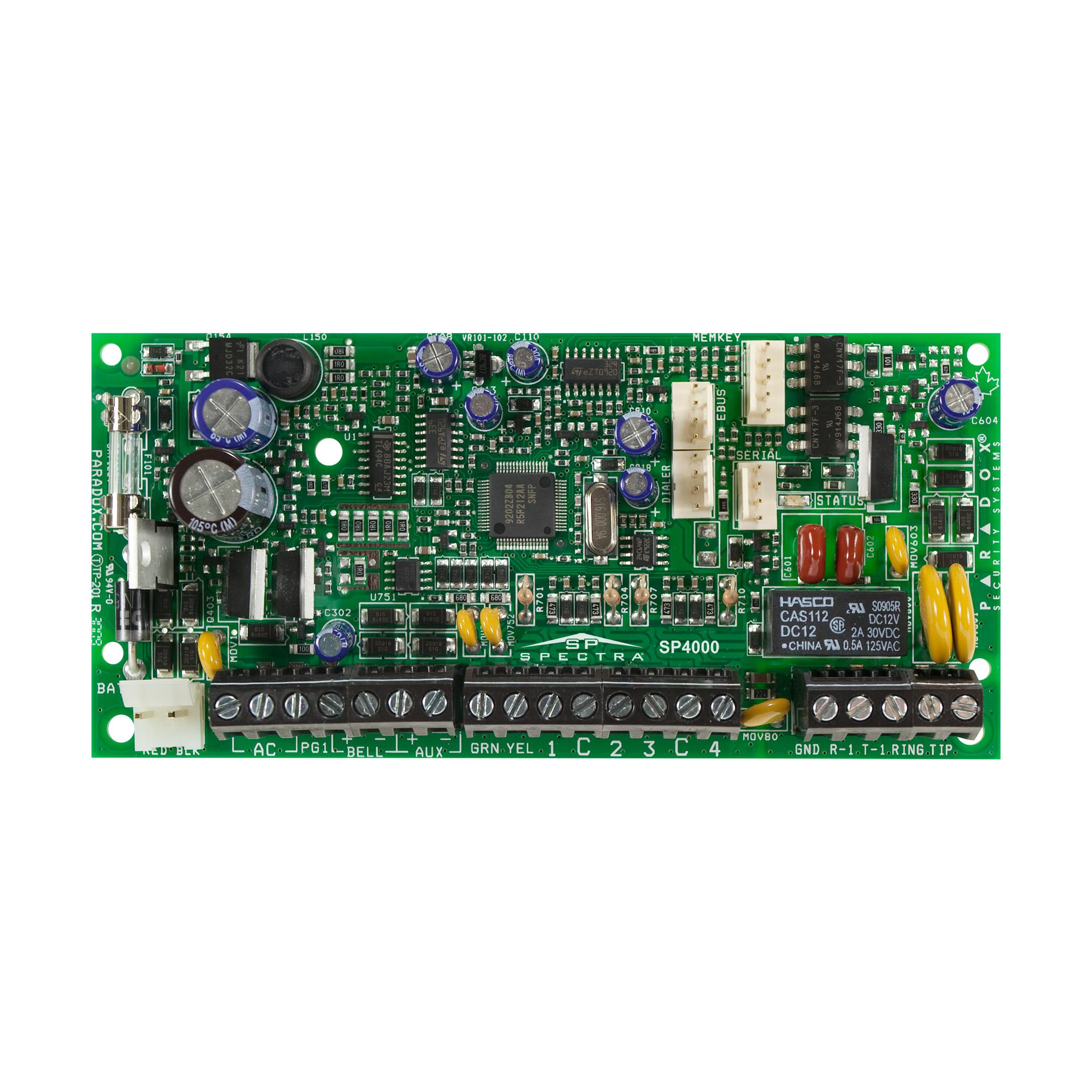 کنترل پنل 4 تا 32 منطقهSP4000 پارادوکس