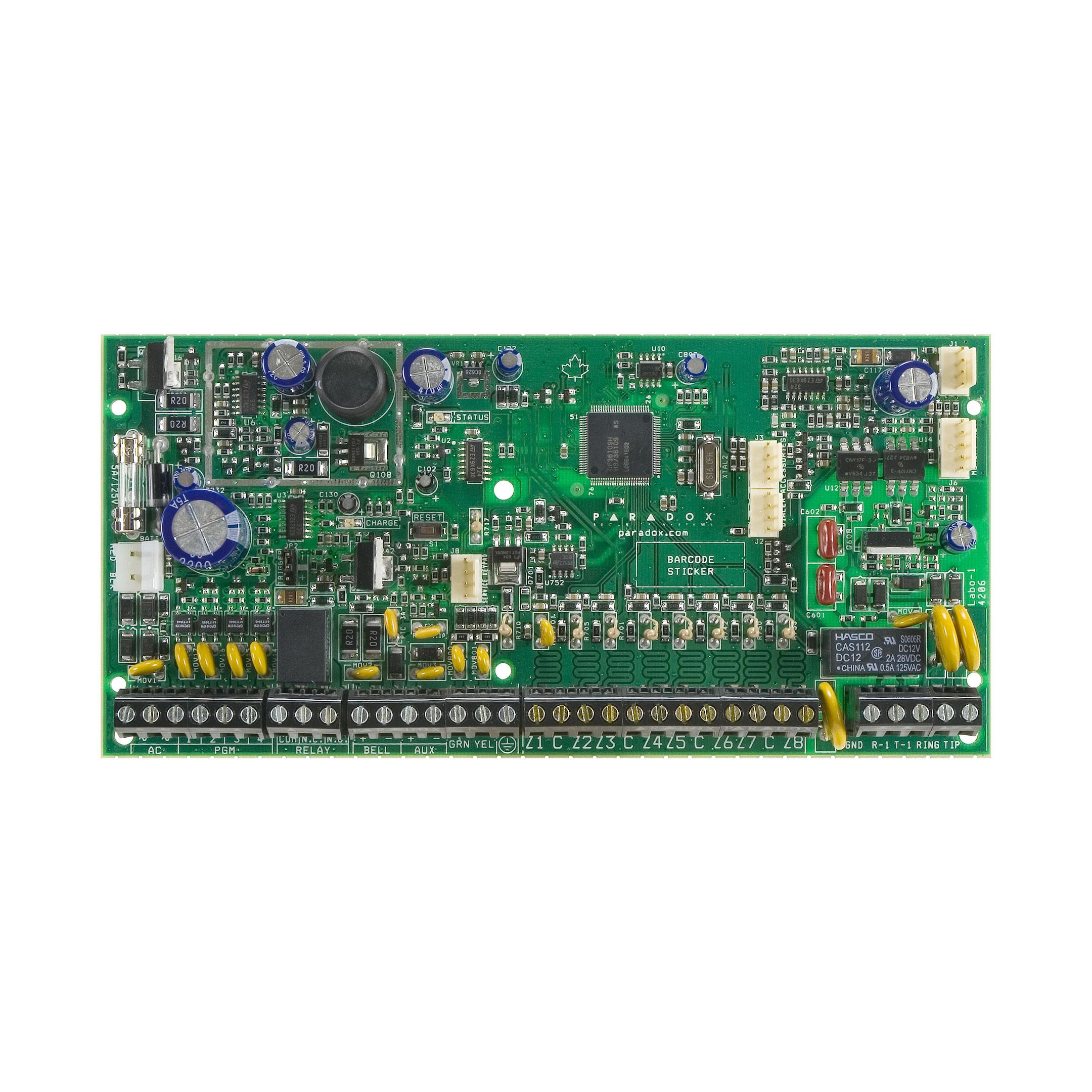 کنترل پنل منطقه 8 تا 32 مدلSP6000 پارادوکس