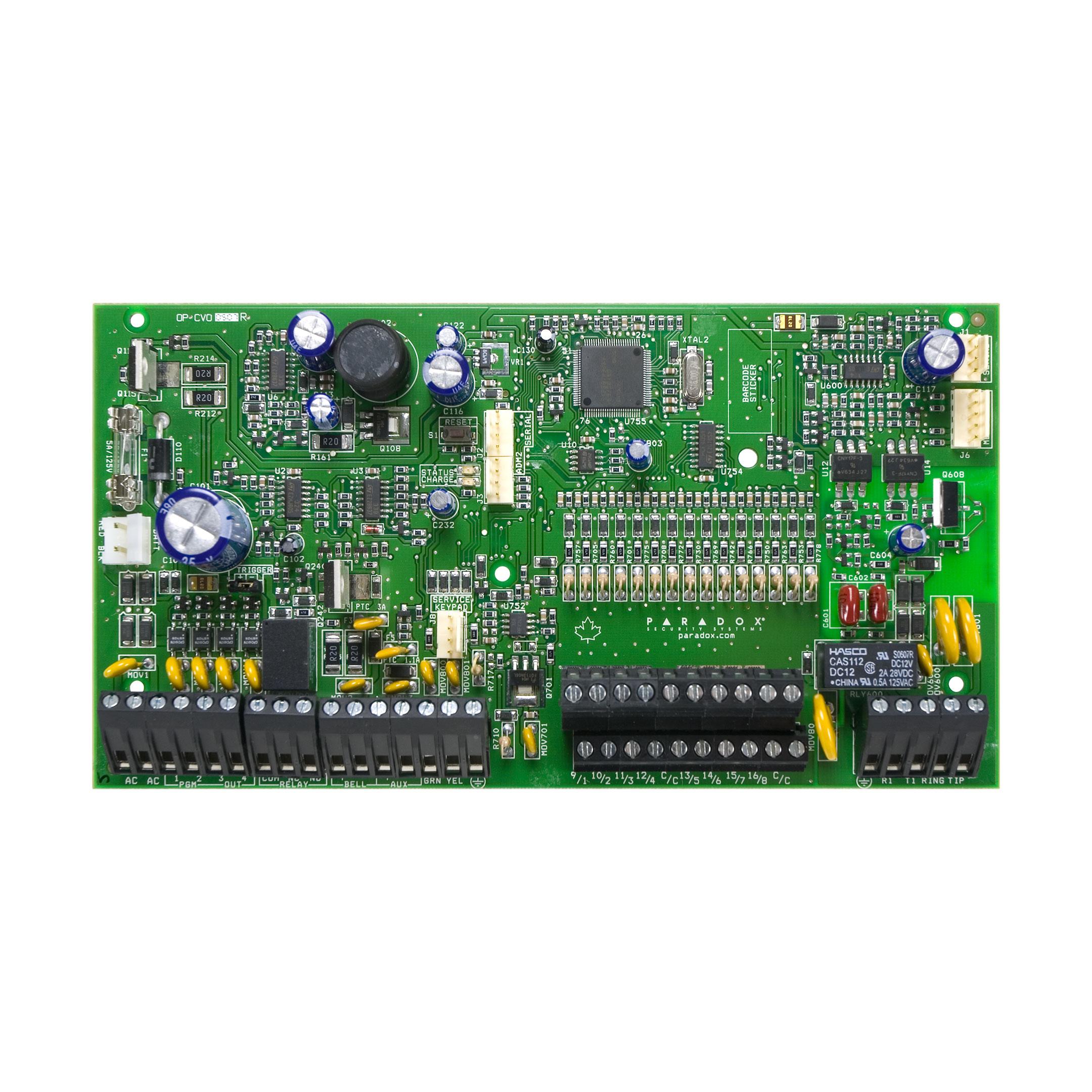 کنترل پنل منطقه 16 تا 32مدل SP7000 پارادوکس